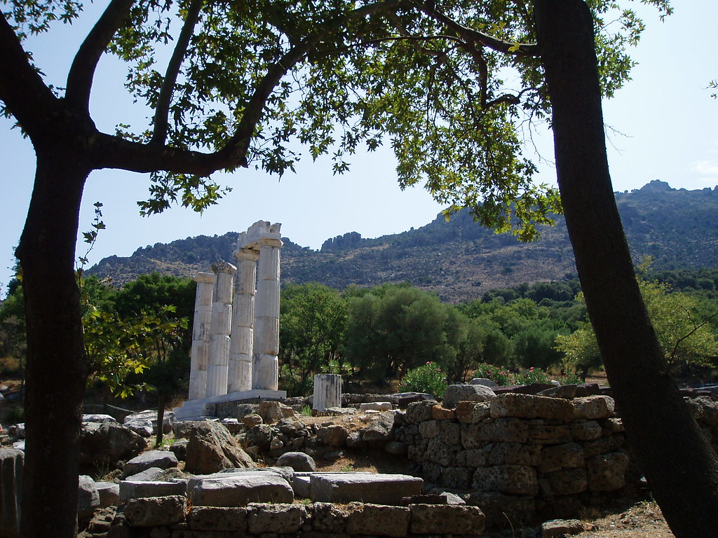 ancient  Sanctuary of the Great Gods  Efi  Flickr