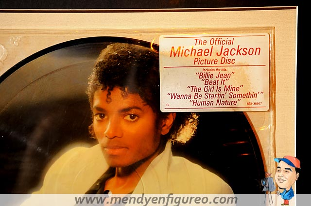 The Official Michael Jackson picture Disc. Billie Jean, Be ...