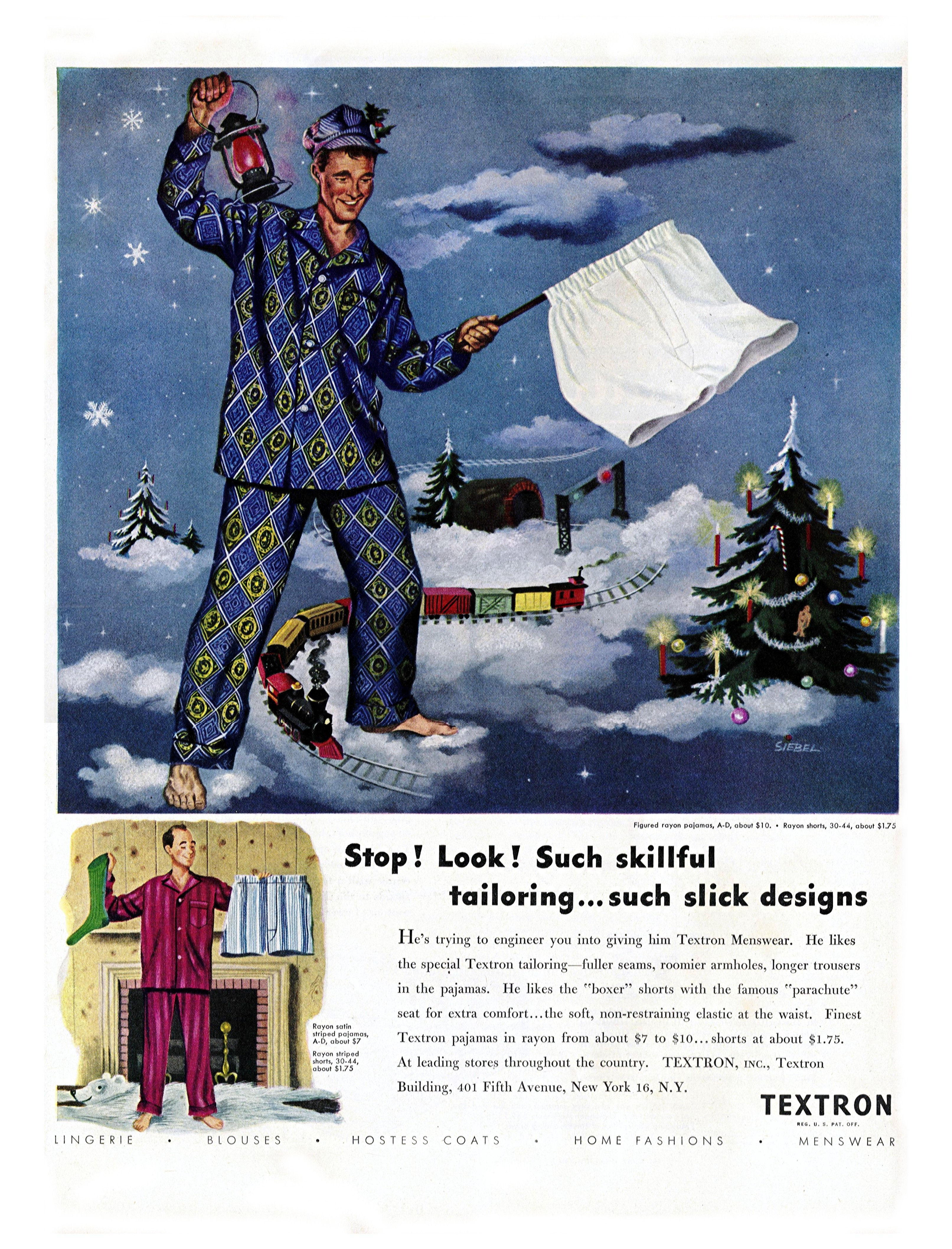 Textron - published in Life - December 1, 1947