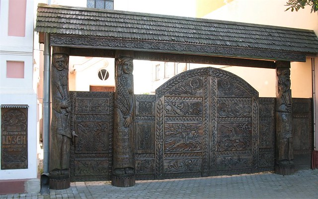 BLR Vetka Museum of People's Art_Gates made by Shklyarov