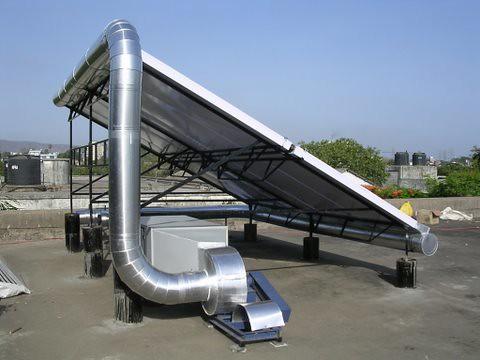 NRG Solar air heating system/ Solar dryer   Chatanya Yardi   Flickr
