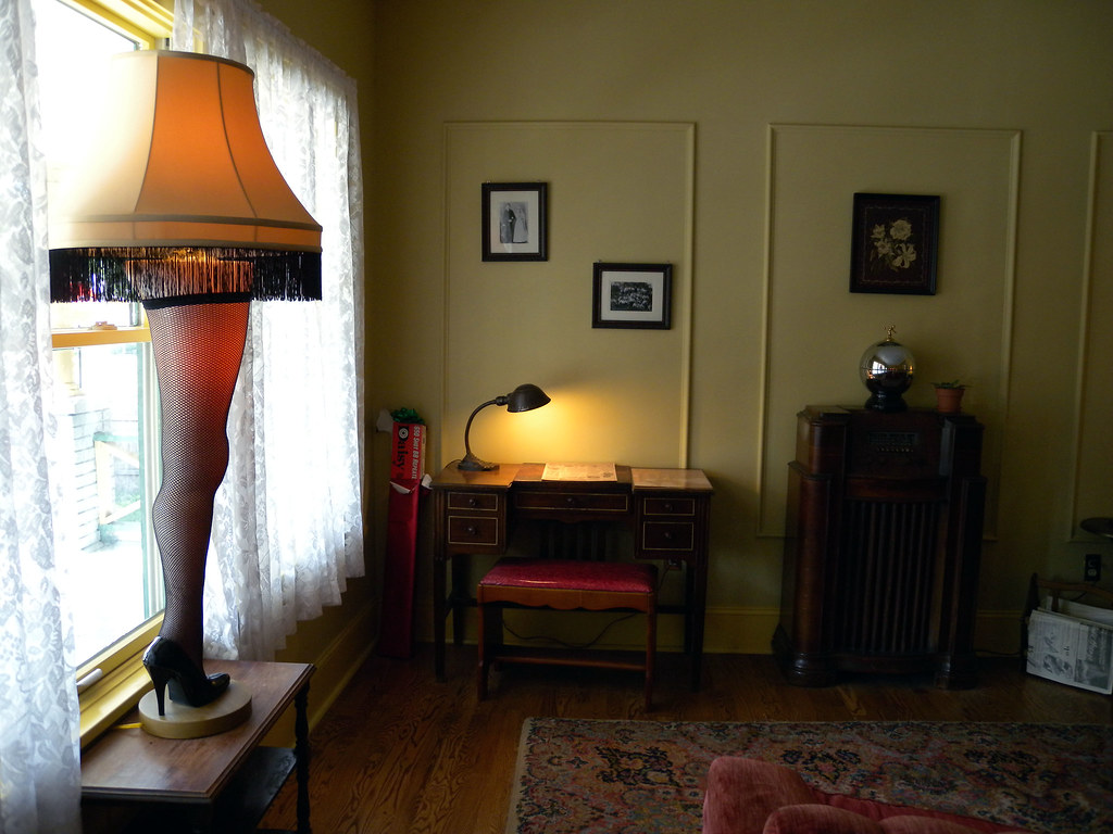 Interior Of A Christmas Story House And Museum In Clevelan Flickr