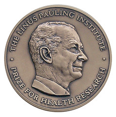 Linus Pauling Institute medal | by Oregon State University