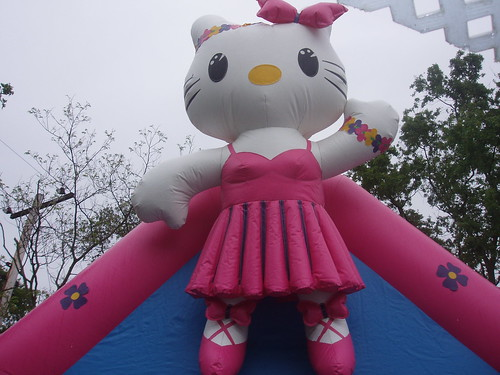 Hello Kitty Bounce House For The Granddaughter S 2nd