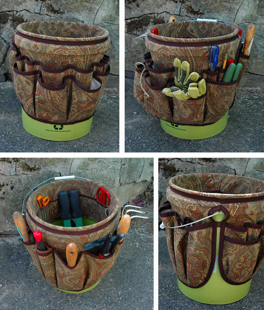 Bucket Apron For Gardening Tools An Organizer I Made For