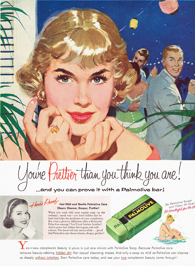 Vintage Ad 1 545 You Re Prettier Than You Think You Are