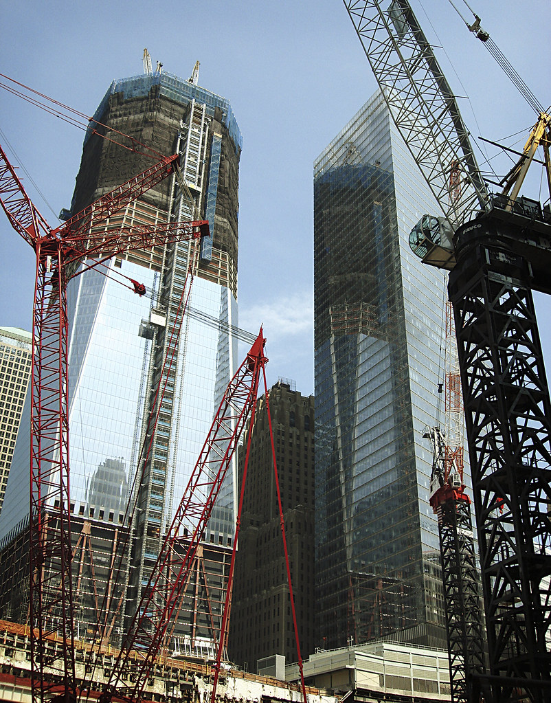 Freedom Tower Construction - World Trade Center   That's ...