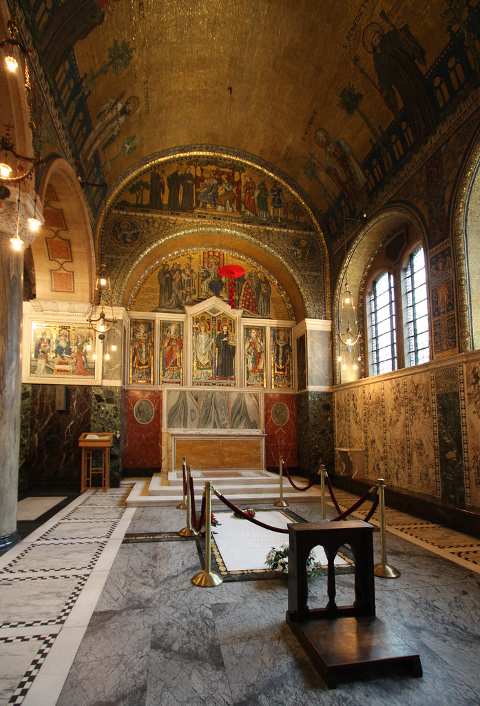 Cardinal Hume's tomb | George Basil Cardinal Hume OSB, the ...