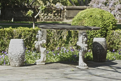 Filoli Garden Table Jean Flickr