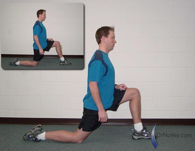Arbeitsblatt Lunge Full Movie : Kneeling lunge stretch flickr photo sharing