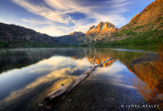 First Light at Silver Lake | by James Neeley
