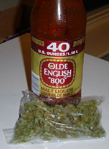 Olde English 800 and My girl