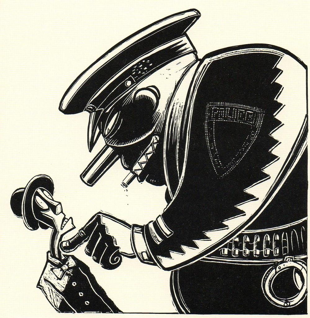 Graphic Novel illustration by Peter Kuper | bibliodyssey ...