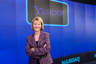 Carol Bartz at NASDAQ | by Yahoo Inc