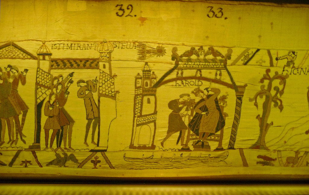 border images support narrative in bayeux tapestry Buried treasure - a needle in the  the norman conquest of 1066 and the making and meaning of the bayeux tapestry  other images from the tapestry trace their.
