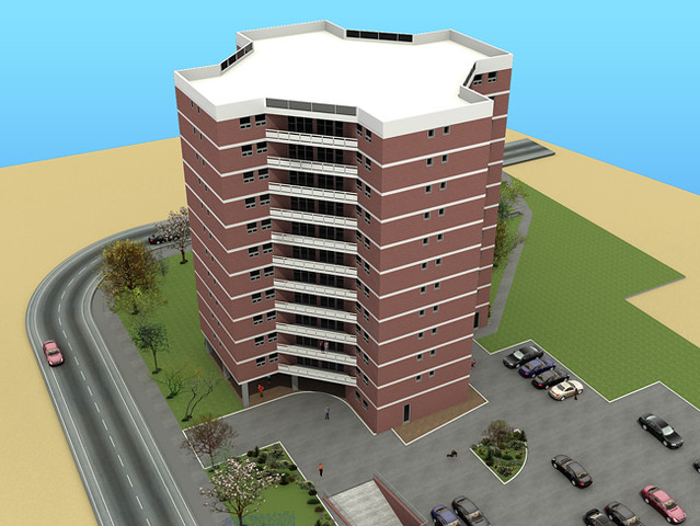Exterior Building Design 3d exterior models - 3d exterior building design models | flickr