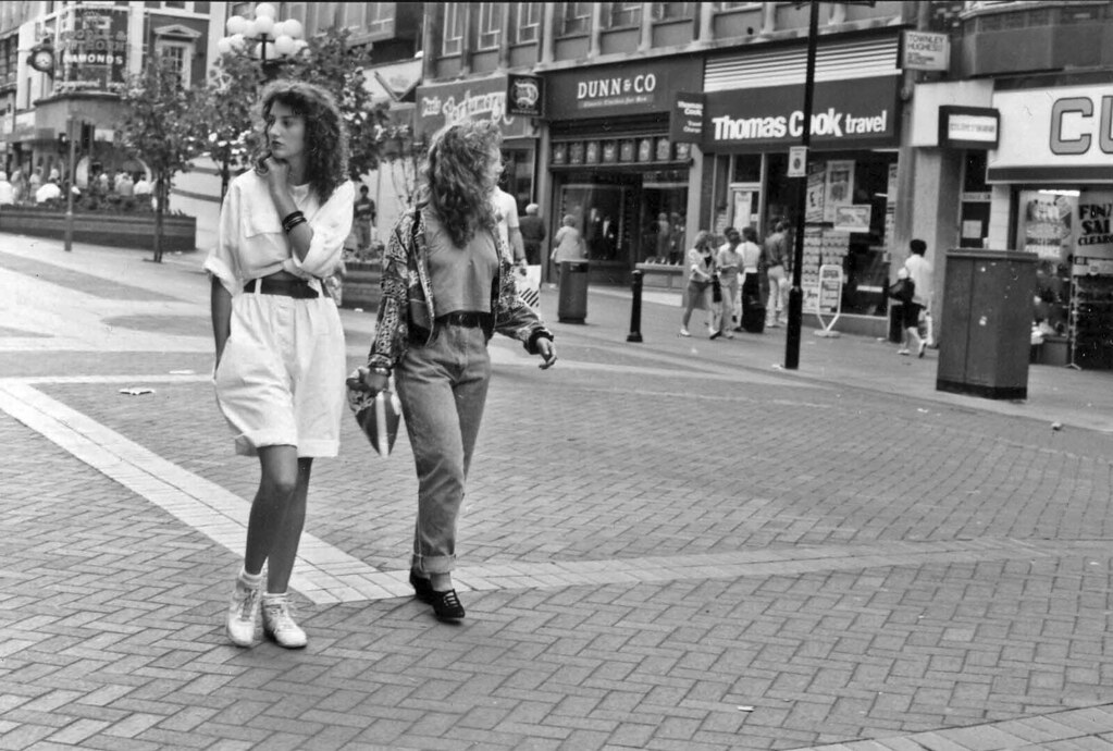 Liverpool 1980 Lord Street Liverpool 1980s