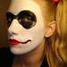 Up close Harley Quinn