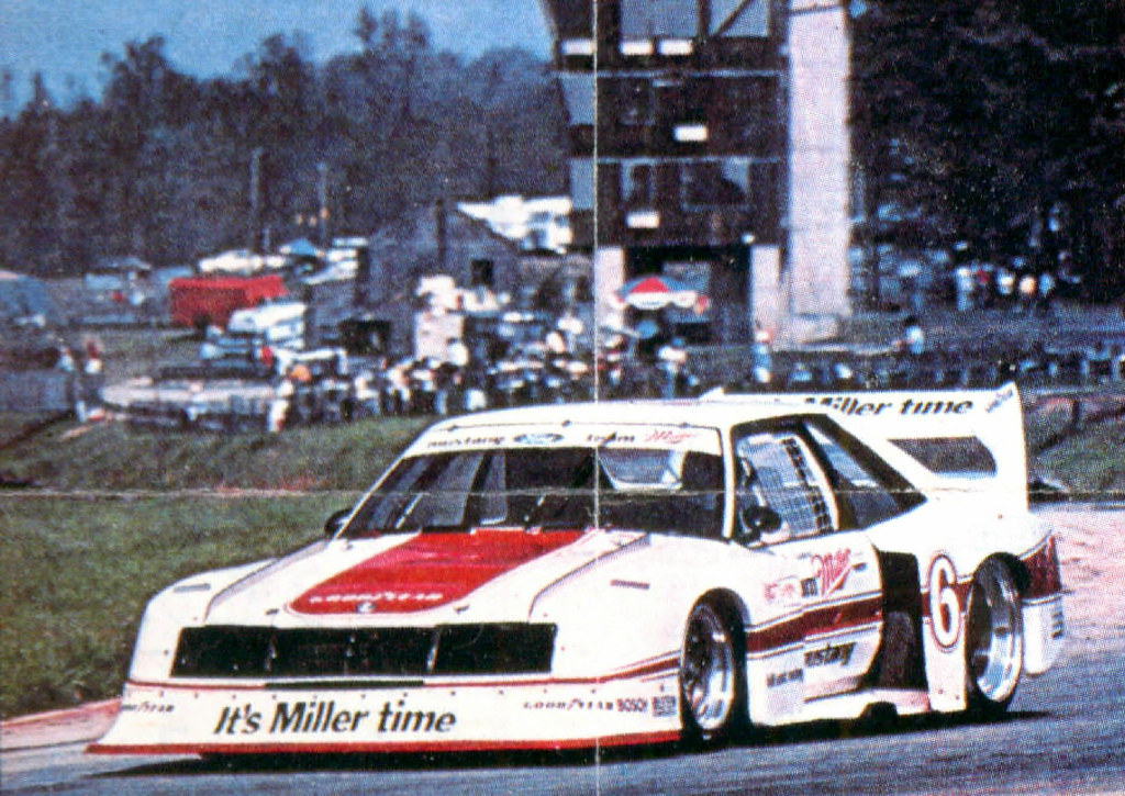 Klaus Ludwig And The Miller Mustang Imsa 1982 83 David