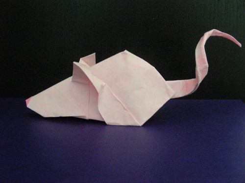 Small Mouse 1 (Design By Rikki Donachie) | by Origamiancy