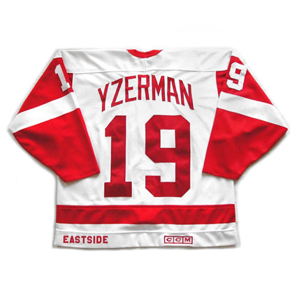 Detroit Red Wings 1988-89 B jersey