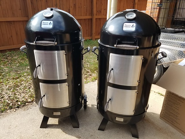 Yes I know I have a problem! Trail Embers smoker - The BBQ