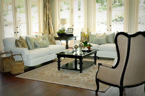 Custom craftsman orange county interior design family room flickr for Orange county interior designer