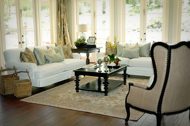 Custom Craftsman Orange County Interior Design Family Room Flickr