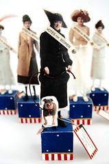 Great American Suffragette Folk Art Doll Frances | by Lenae May