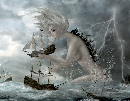 Give Praise to the Goddess of Stormy Seas (for your life is in her hands) | by Cala Rossini