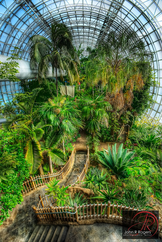 Incroyable ... Crystal Bridge Tropical Conservatory | By John R Rogers