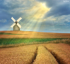The Magic Windmill | by Ben Heine