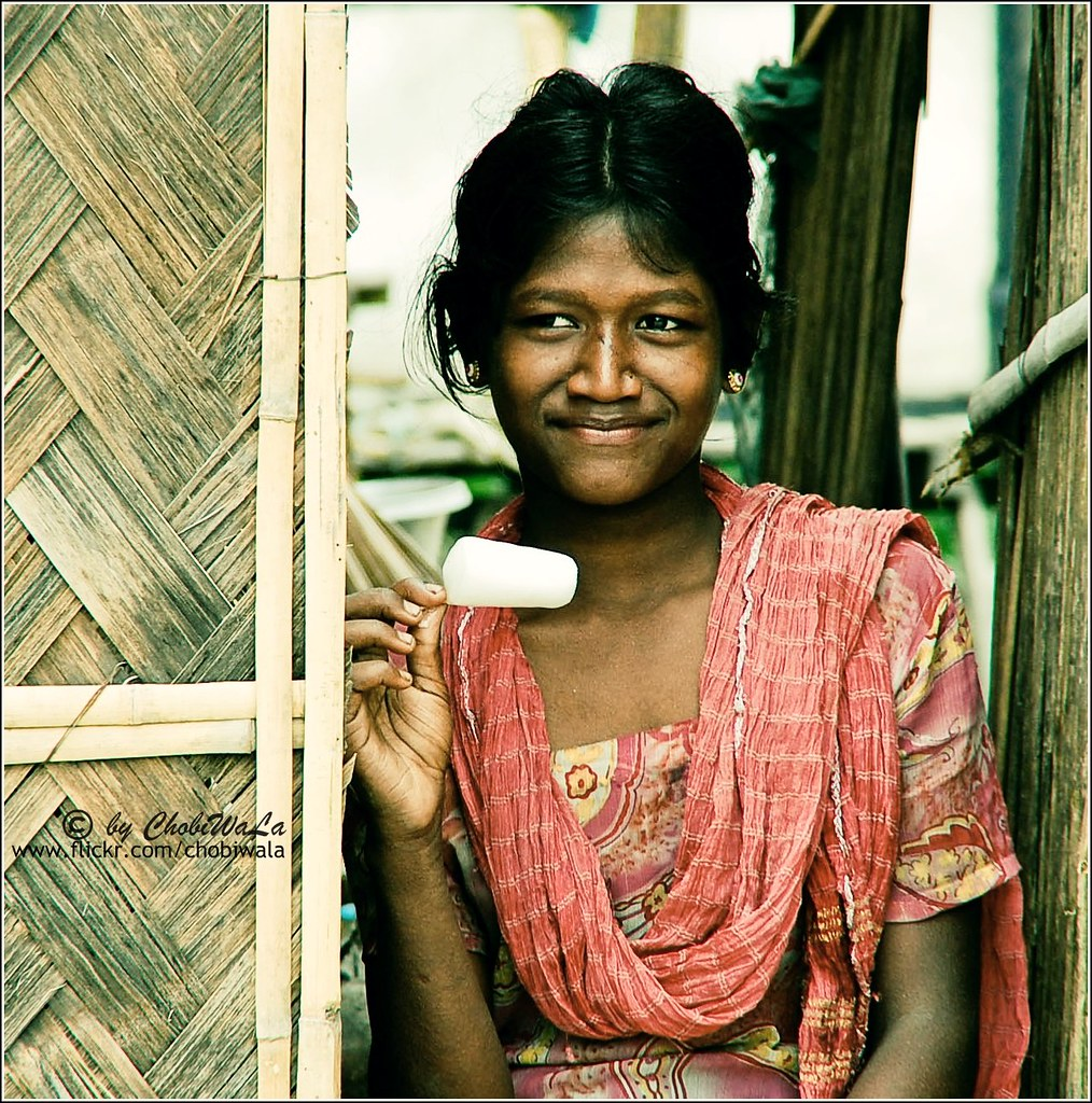 ViLLagE girL \' | A simple viLLagE GirL is taking ice-cream… | Flickr