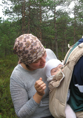 Forageing for cloudberries and wild mushrooms / Murakaid ja seeni korjamas | by Pille - Nami-nami