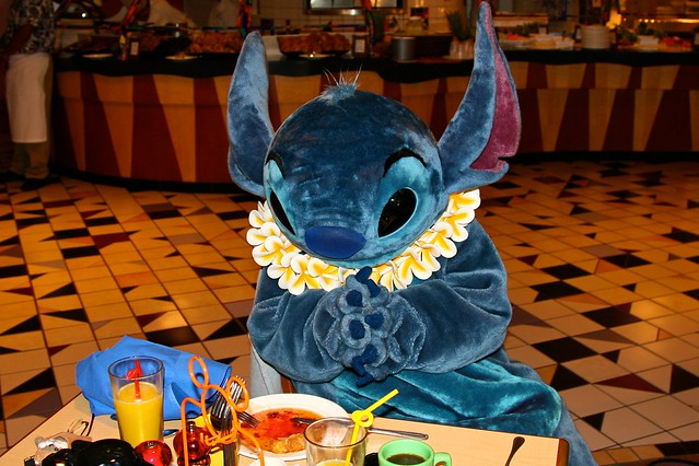 disneyland aug 2009 lilo amp stitch aloha breakfast at dis