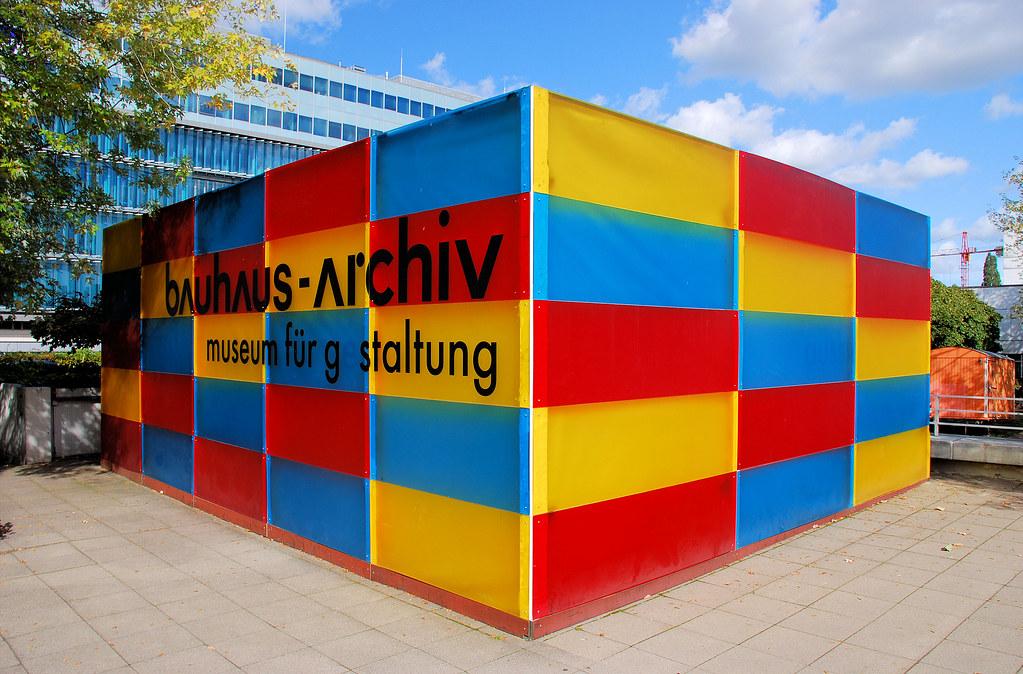 Berlin Das Bauhaus Archiv Museum Pavillion Für Gestaltun Flickr