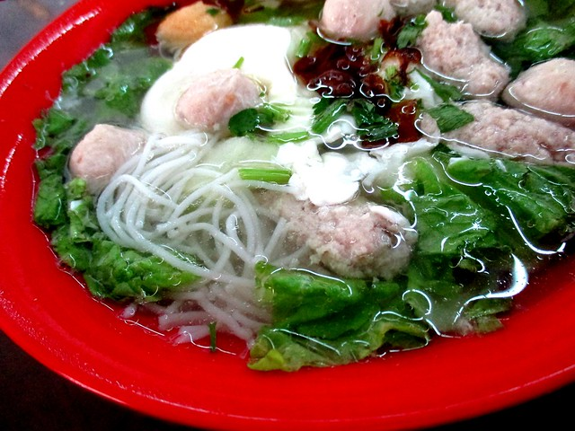 One Cent pork ball noodles 2