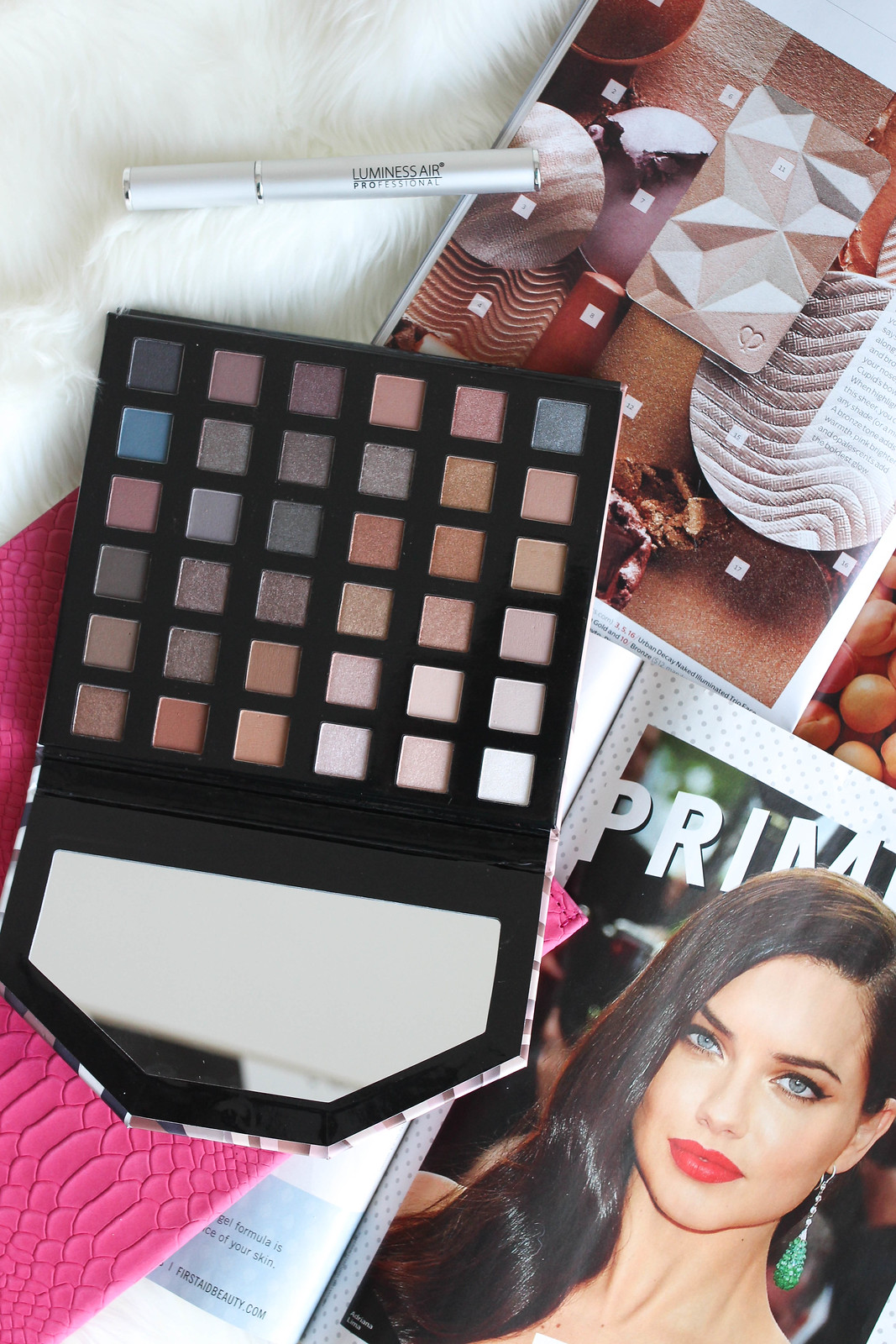 Luminess Air Nude & Naughty Eye Shadow Palette