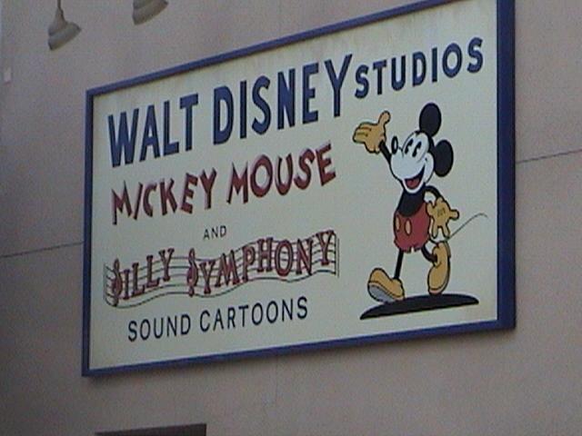 walt disney studios mickey mouse and silly symphony sound