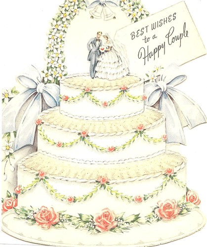 vintage wedding card | June is the month for weddings ...  Vintage Wedding Quotes