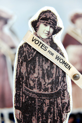 Great American Suffragette Folk Art Doll Jane | by Lenae May