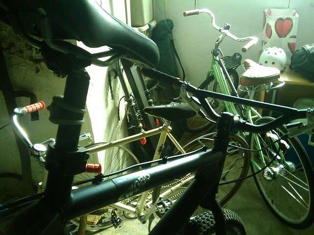 basement bikes a few of our bikes in the basement by