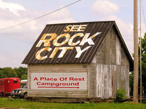 See Rock City barn - Ethridge, TN