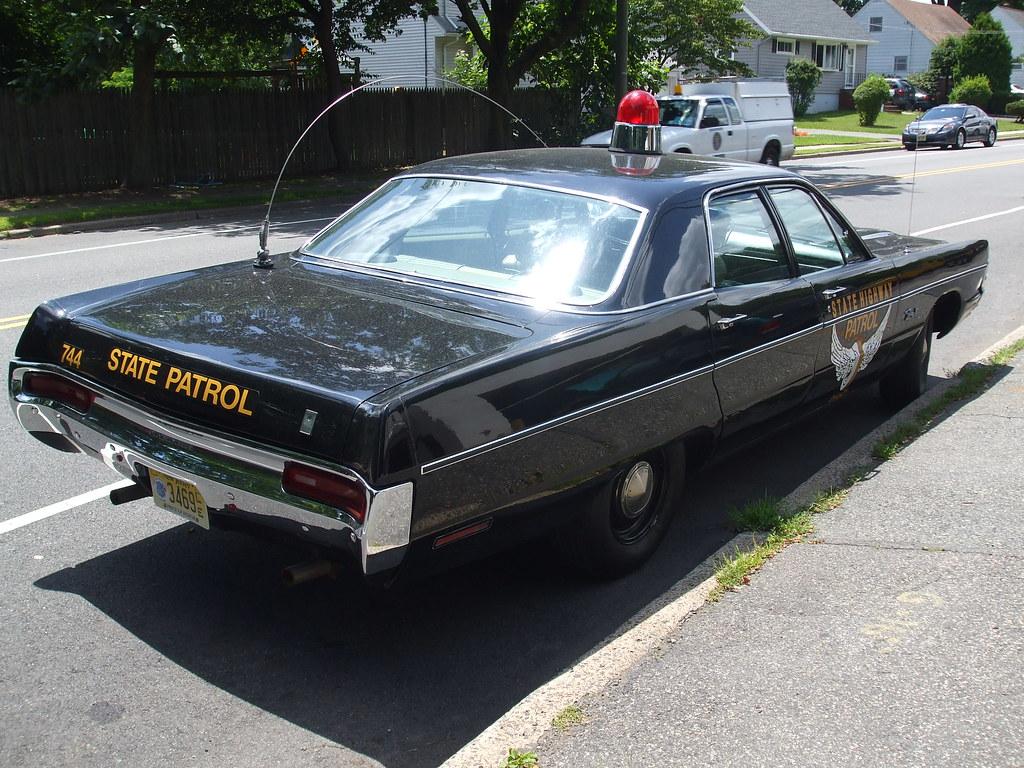 Restored 1960s Highway Patrol Car This Restored Beauty