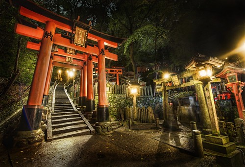 Midnight Adventure in the Japanese Cemetery | by Stuck in Customs