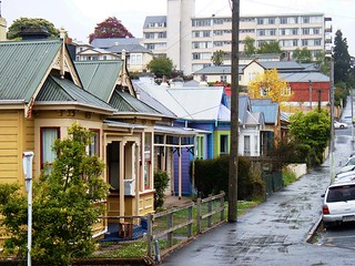City Streets on a rainy day in Dunedin, New Zealand | by Mr Thinktank