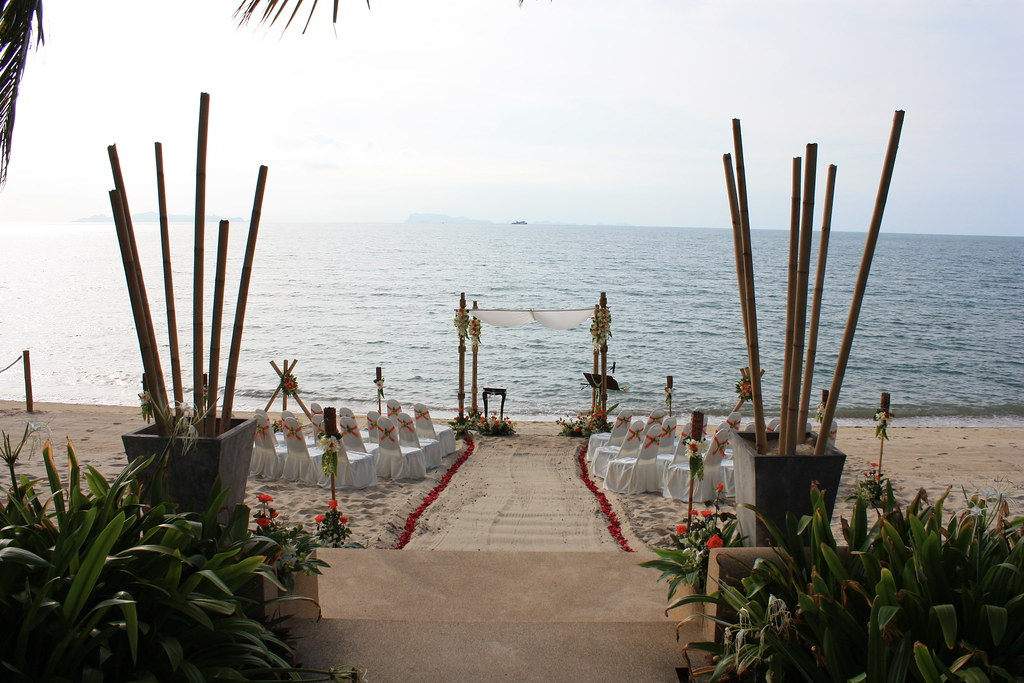 Beach Wedding Koh Samui Thailand