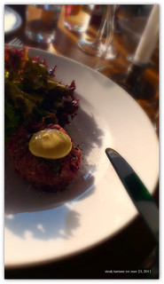 Steak Tartare Starter | by Papa Razzi1
