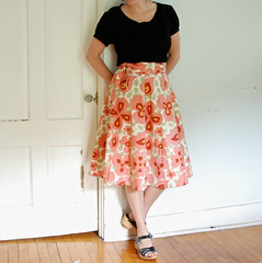 my yard sale skirt | by SouleMama