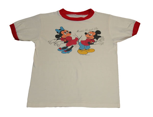 Minnie And Mickey Vintage T Shirt This Is An Authentic